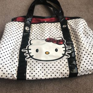 Hello Kitty 🐱 canvas tote bag.